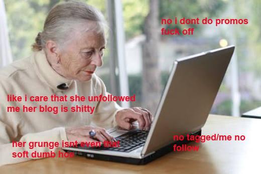 Nana Loves Social Media As Much As You Do.
